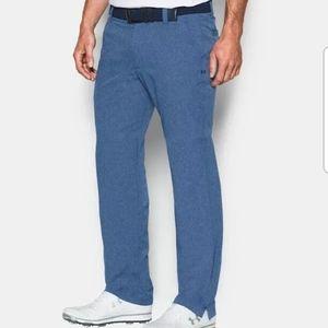NWT UNDER ARMOUR Mens Golf Pant Blue Size W34XL32